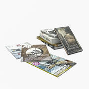 Libri e riviste 3d model