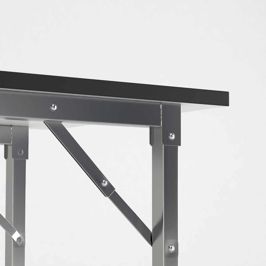 Folding Table royalty-free 3d model - Preview no. 4