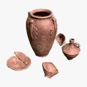 Starożytna ceramika 3d model