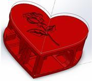 Regalo de San Valentín modelo 3d