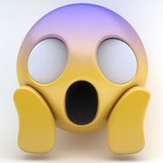 EMOJI scream 3d model