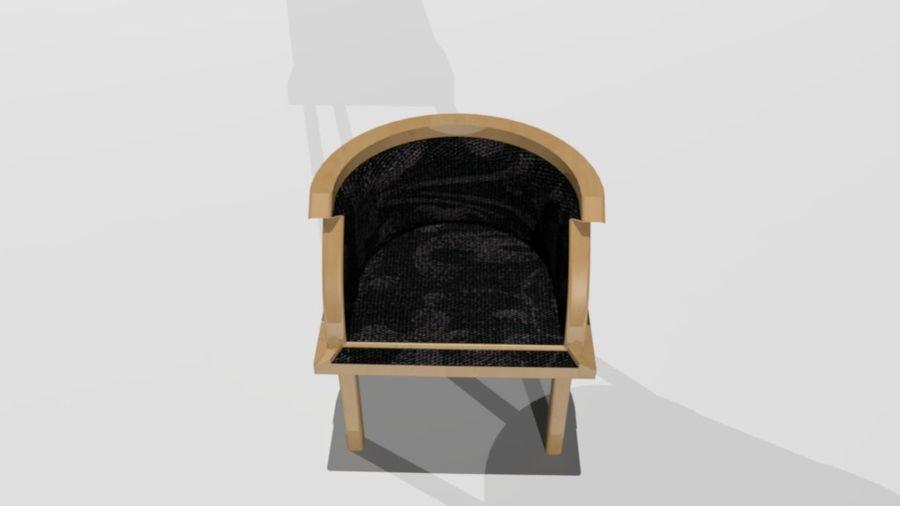 폴 트론 의자 royalty-free 3d model - Preview no. 4