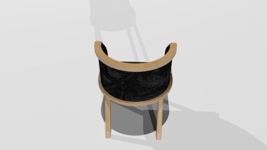 폴 트론 의자 royalty-free 3d model - Preview no. 5