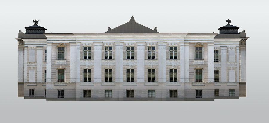 Bâtiment public classique royalty-free 3d model - Preview no. 3