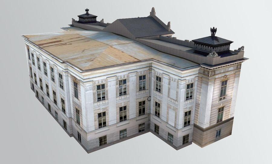 Bâtiment public classique royalty-free 3d model - Preview no. 4