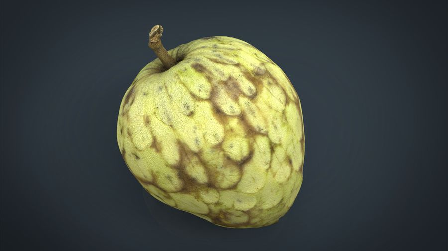 Vaniljsås äpple royalty-free 3d model - Preview no. 1