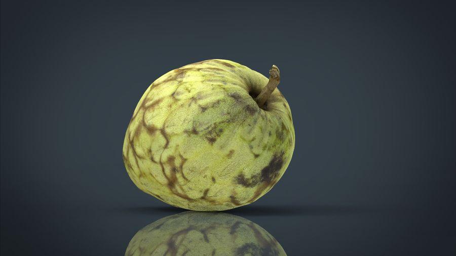 Vaniljsås äpple royalty-free 3d model - Preview no. 2