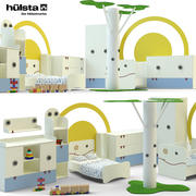 孩子的房间 3d model
