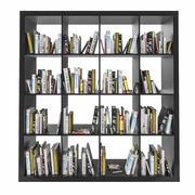 Étagère Ikea Expedit avec livres 3d model