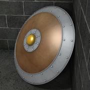 圆盾 3d model