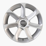 Audi TT Alloy Wheel 3d model