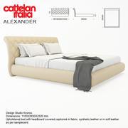 卡特兰意大利亚历山大 3d model