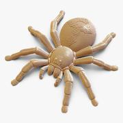 程式化的蜘蛛-3D打印 3d model