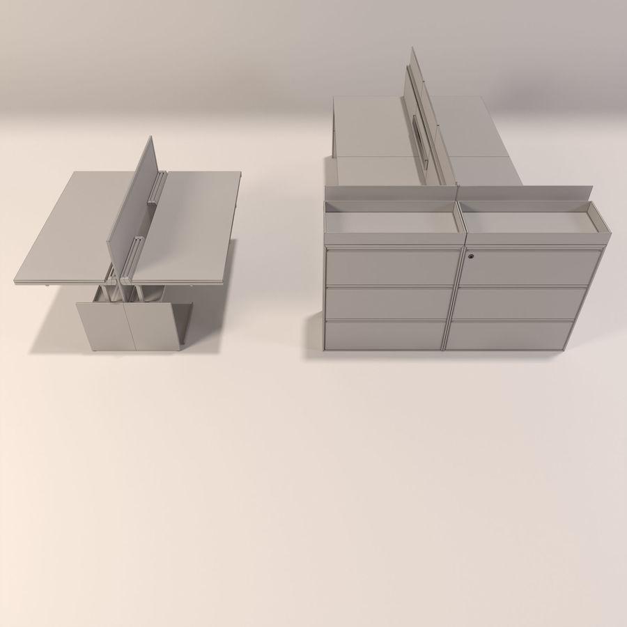Büro-Schreibtische royalty-free 3d model - Preview no. 7