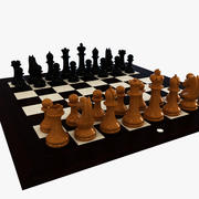Official world championship chess 3d model