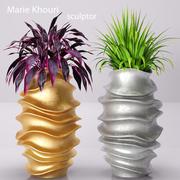 Recolección de plantas en macetas modelo 3d