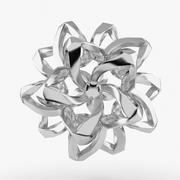 은꽃 3d model