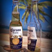 Bier Corona Extra 3d model
