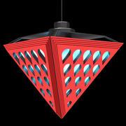 Lámpara de alta tecnología modelo 3d