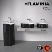 Lavabo bagno Flaminia Roll 3d model