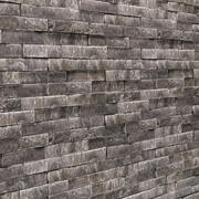 Seamless Stone Wall 3d model