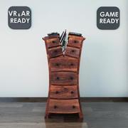 Şifonyer04 VR_AR_Oyun Hazır 3d model