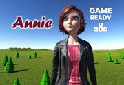 Desenho de Annie 3d model