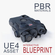 Double Action Laser DBAL 3d model