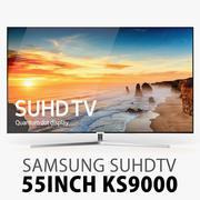 Yeni Samsung KS9000 55 inç SUHD 4K TV 3d model