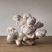Autor Skulptur Koralle 3d model