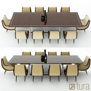 Tura förmörkelse matbord 3d model