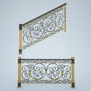 楼梯x_01 3d model