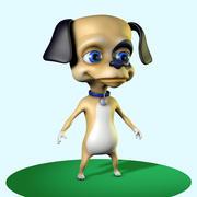 小狗性格 3d model