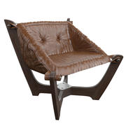 Cadeira de couro 3d model