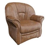 Fotel skórzany 3d model