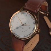 Wrist watch vintage 3d model