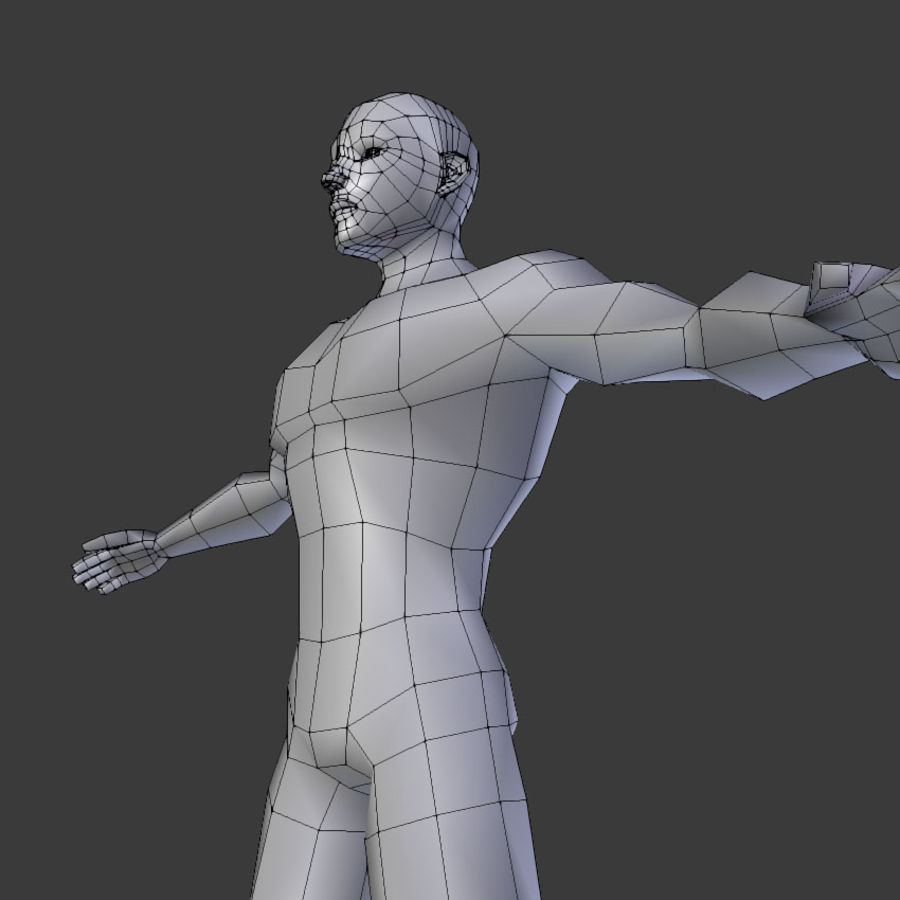 Human Body Male royalty-free 3d model - Preview no. 10
