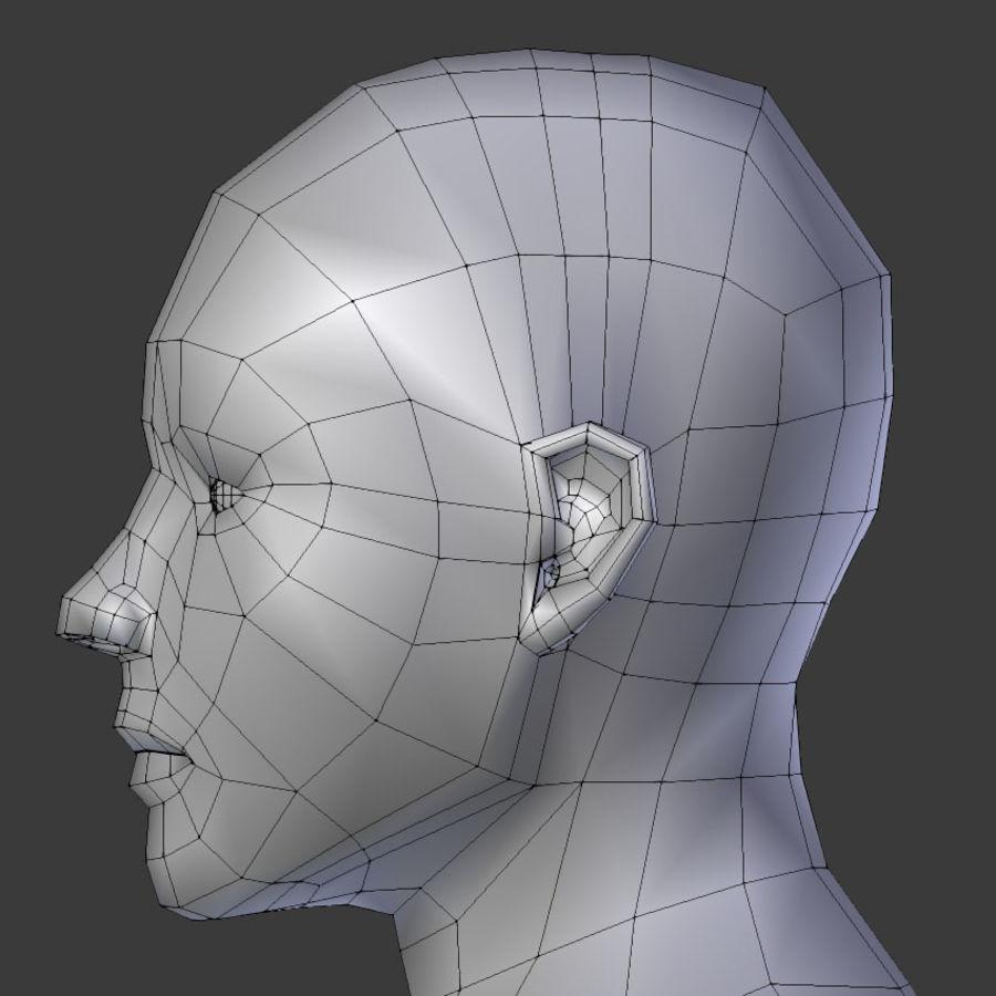 Human Body Male royalty-free 3d model - Preview no. 8