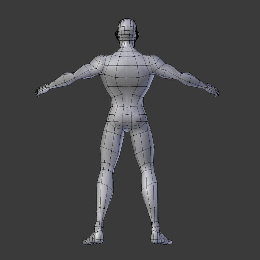 Human Body Male royalty-free 3d model - Preview no. 5