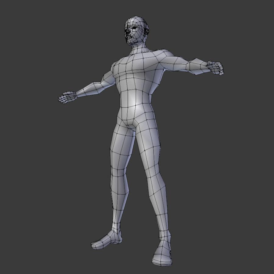 Human Body Male royalty-free 3d model - Preview no. 12
