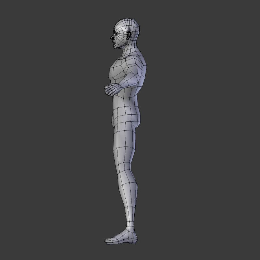 Human Body Male royalty-free 3d model - Preview no. 6