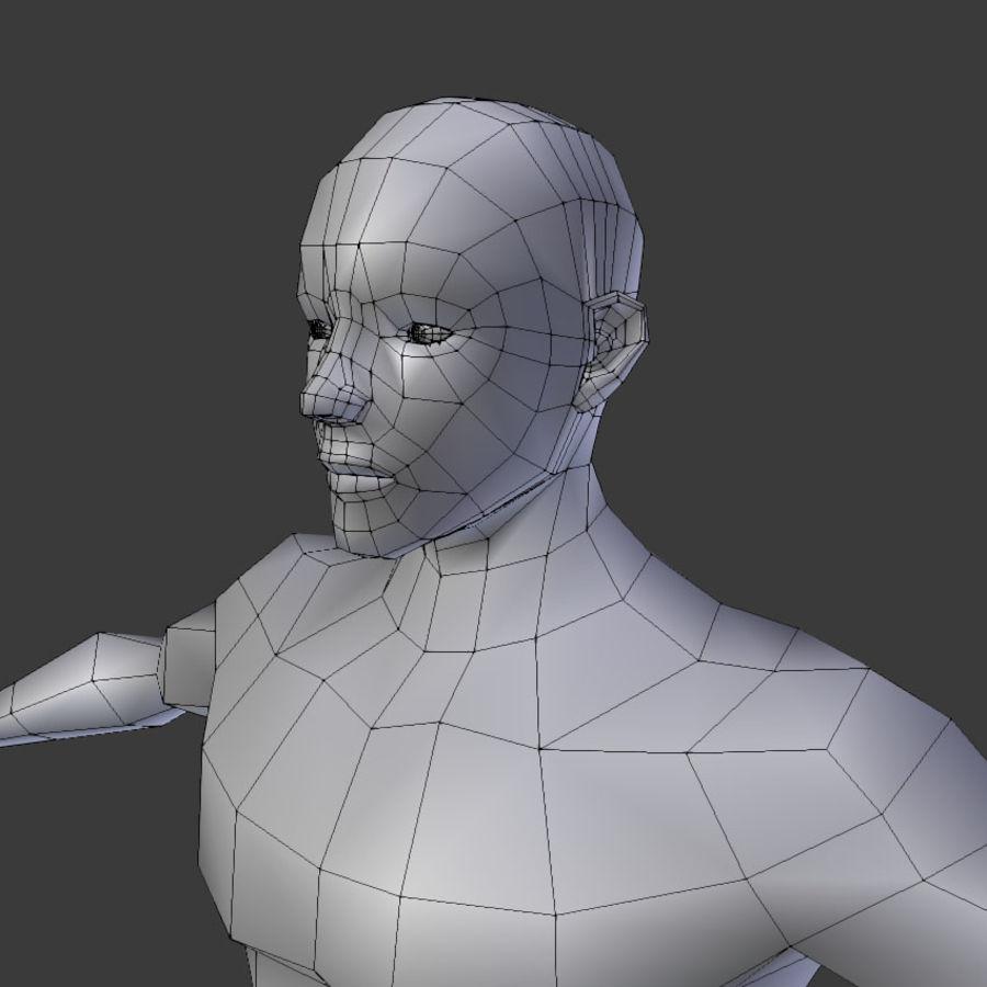 Human Body Male royalty-free 3d model - Preview no. 9