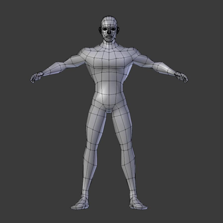 Human Body Male royalty-free 3d model - Preview no. 4