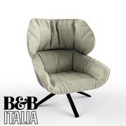 B&B Tabano Armchair 3d model