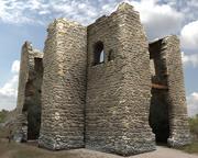 ruinerar slottet 3d model