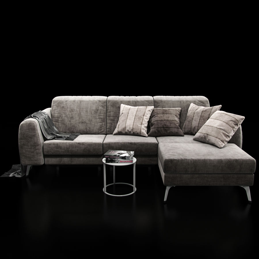 Sofá BoConcept Madison royalty-free modelo 3d - Preview no. 5