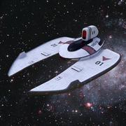 Raumschiff 3d model