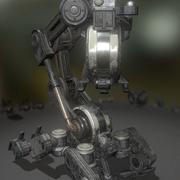 The Walking Mech Neck Old Version 3d model
