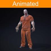 Prisonnier de personnage 3d model