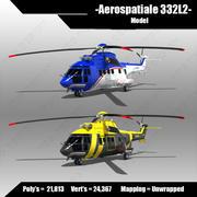 Aerospatiale 33L2 3d model